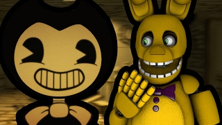 SPRING BONNIE PLAYS: Bendy and the Ink Machine Demo    COME VISIT THE OLD WORKSHOP