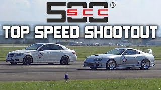 1Km Top Speed Shootout! SCC500 Rolling50 Lahr - 1400HP GT2, Supra, GTR & More!