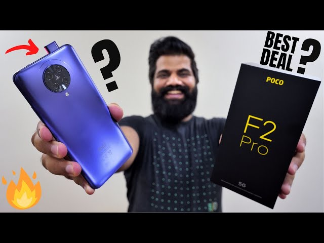 Poco F2 Pro Unboxing & First Look - Best Value Performance Deal!!! Coming to India?🔥🔥🔥