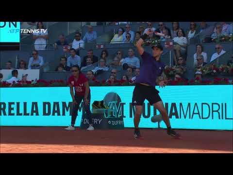 Best Shots & Amazing Rallies from Djokovic v Thiem Epic | Madrid 2019