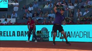 Best Shots & Amazing Rallies from Djokovic v Thiem Epic | Madrid 2019