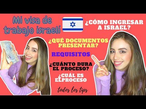 Cómo Sacar Tu VISA DE TRABAJO En ISRAEL - Te Explico El Proceso PASO A PASO