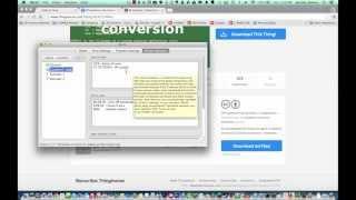 Getting Started with the FlashForge Creator X - Slic3r on Mac OS X (3D Universe)