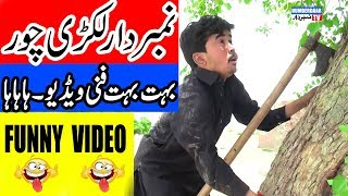 Numberdaar Lakri Chor Funny Video | نمبر دار لکڑی چور |  Numberdaar Tv