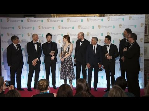 Stars come out for British Bafta awards