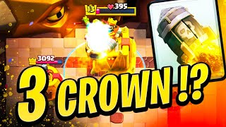3 crowning players by only using Rocket cycle!?