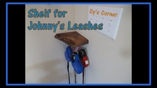 Shelf for Johnny's Leashes