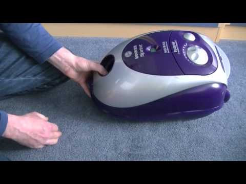 Introducing The Hoover TW1650 Sprint Bagged Cylinder Vacuum Cleaner
