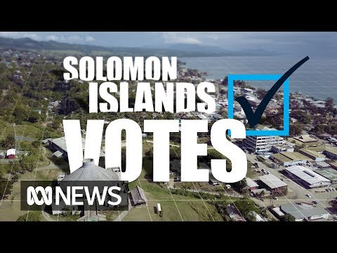 Devil's night, vote buying and tropical islands: Solomon Islands votes | ABC News