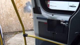 видео электропривод сдвижной двери