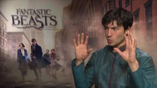 Ezra Miller, London Press Junket Interview