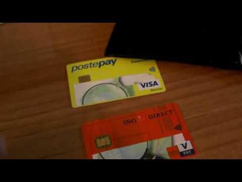 Come disabilitare contactless nfc dalle carte di credito postepay ingdirect de YouTube · Duración:  2 minutos 40 segundos