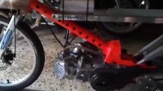 moto hippy racing mini pro takegawa ksr 200cc