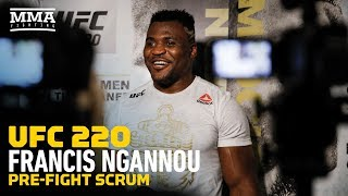 UFC 220: Francis Ngannou Doesn't Think UFC Will Give Stipe Miocic Immediate Rematch - MMA Fighting