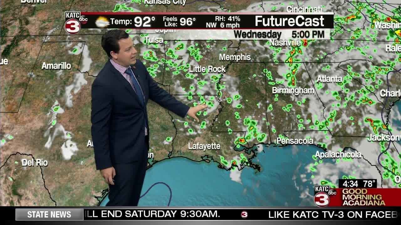Daniel's Weather Forecast 5/15/18