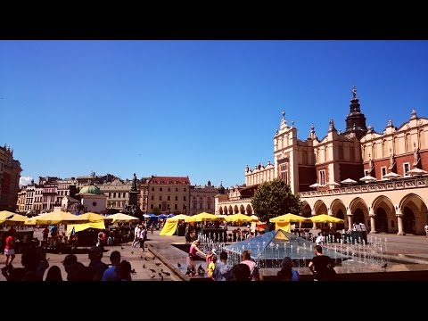 a whole day of walking in KRAKÓW, POLAND