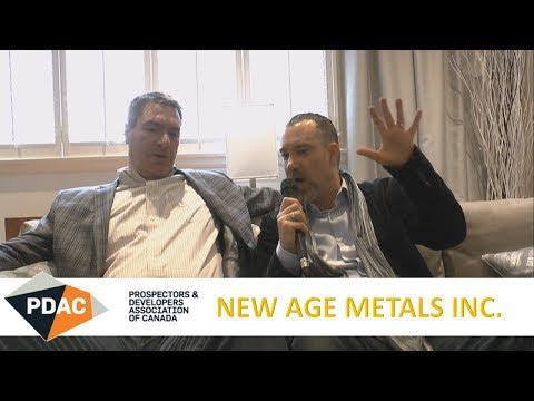 New Age Metals Inc.: #PDAC2018 Video-Interview Trevor Richardson (TSX-V: $NAM)