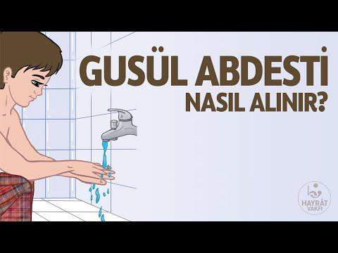 Gusül Abdestinin Alınışı