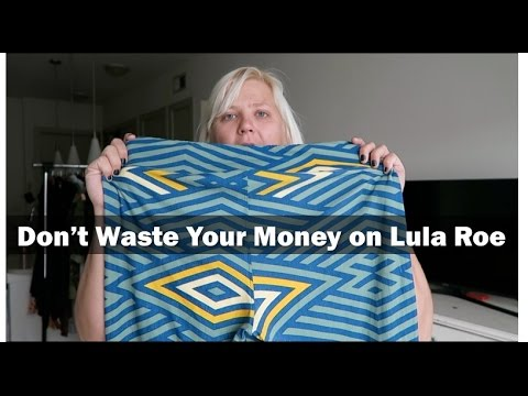 Lula Roe is a Waste of Money