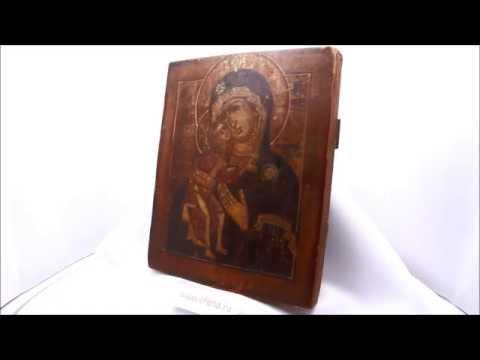 Икона Феодоровская Богородица, икона для зачатия, беременных, для моления о детях. D0047