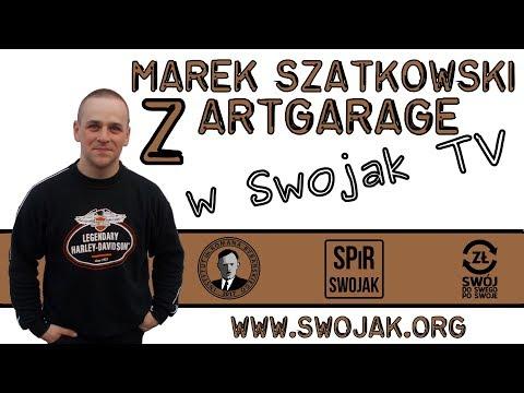 SwojakTV - odcinek 1 (Marek Szatkowski z ArtGarage)