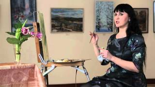 Уроки рисования. Техника импасто (1.04.2016)