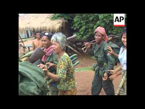 Cambodia-CPP forces walk into FUNCINPEC stronghold