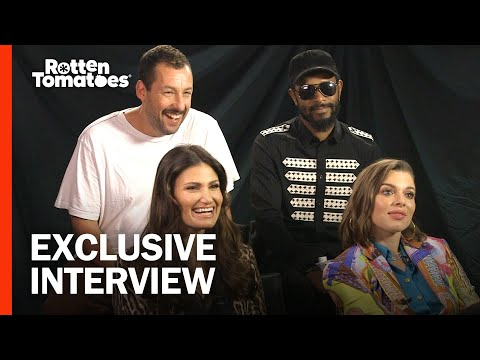 Adam Sandler and Uncut Gems Cast Talk Getting Wild with the Safdie Brothers