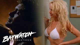 5 Sexy Encounters On Baywatch! Mitch & C J Parker Lead The Way | Baywatch Remastered