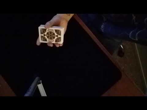 Card trough box using DPS
