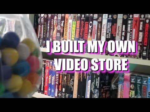 I BUILT MY OWN VIDEO STORE - 3B VIDEO