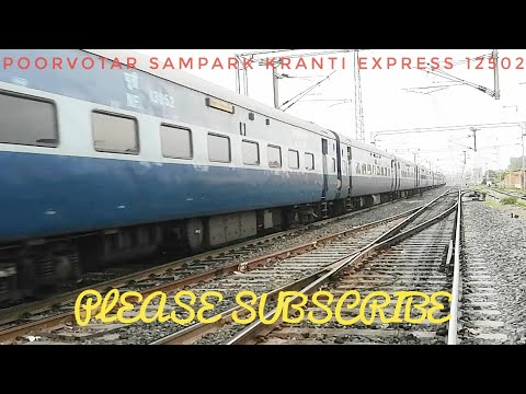 #12502|| POORVOTTAR SAMPARK KRANTI EXPRESS IN ANGRY MOOD!!WAG7