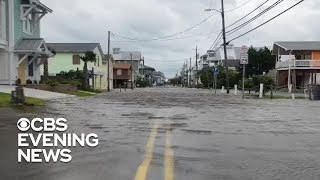 Hurricane Florence floods North Carolina beach community