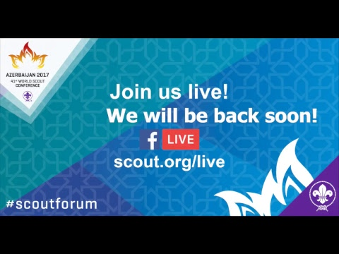 World Scouting Live Stream Test