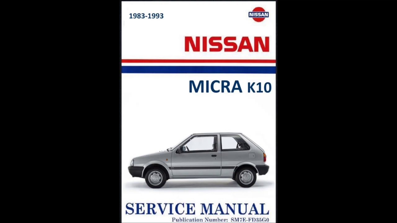 workshop manual nissan micra k10 manual de taller nissan micra k10 rh youtube com nissan k11 service manual nissan k11 service manual