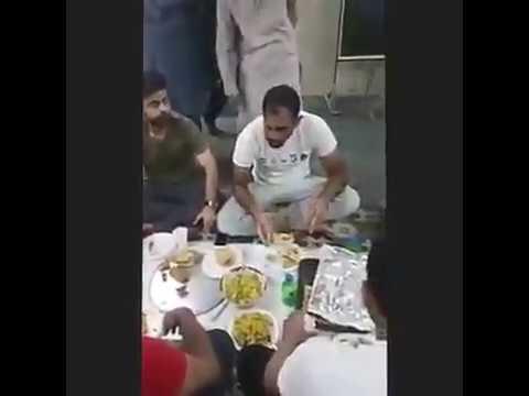 Pakistan Cricket team dinner with Tablighi jamat on West Indies tour