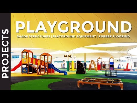 Playground Flooring, Play Equipment & Shade Structures In UAE | Mister Shade ME