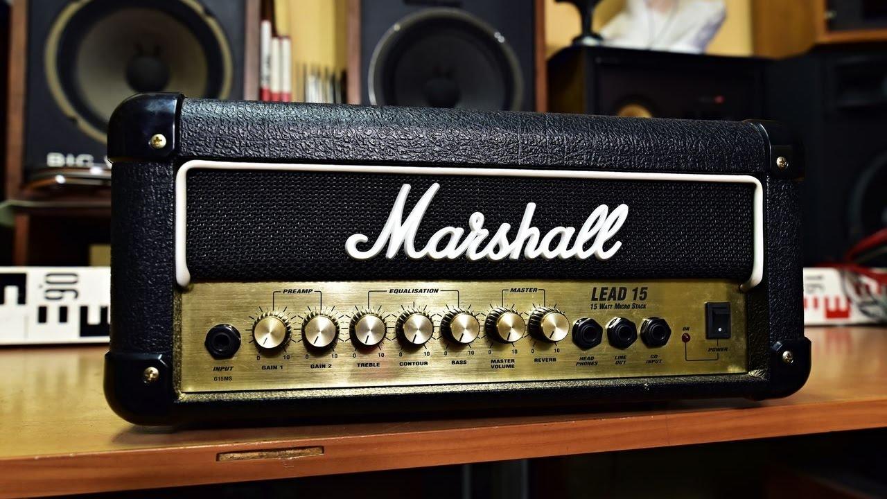 Marshall Lead 15
