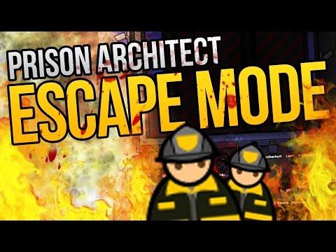 Prison Architect Escape Mode - BIGGEST FIRE ★ Prison Architect Escape Mode Gameplay