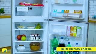 LG 260 L Frost Free Double Door 3 Star 2020 Refrigerator Shiny Steel GL-I292RPZL 2020 - lg