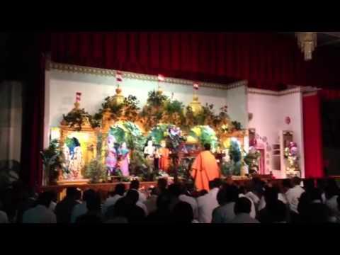 Ghanshyam's Prakatya Aarti at BAPS Mandir at Lowell, MA USA