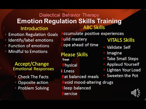 Dbt Peer Connections Ep 4a Emotion Regulation Skills Introduction