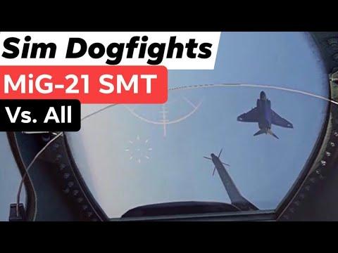 MIG-21SMT Vs. F-4 Phantom II FGR.2|Lightning|G.91 YS|1 Vs. 1 WarThunder Dogfights