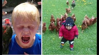 Try Not To Laugh🔥😰😁Funniest Kids vs Animal Edition🔥😰😁 2020