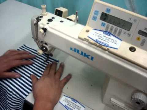 Juki DDL40n40 Fully Automatic Single Needle Sewing Machine YouTube Cool Juki Ddl 5550n Industrial Sewing Machine