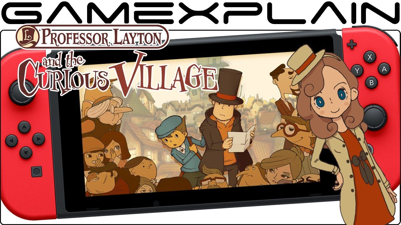 Multiple Professor Layton Games Seemingly Leaked For Switch By Localization Team Youtube