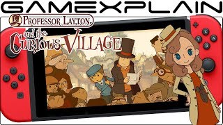 Multiple Professor Layton Games Seemingly Leaked for Switch by Localization Team