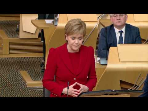 First Minister's Questions - Scottish Parliament: 16th June 2016
