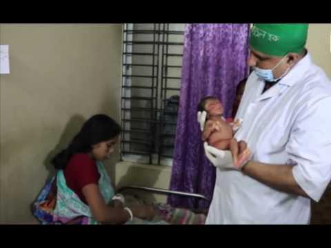 Strange Looking Baby Born In Bangladesh.