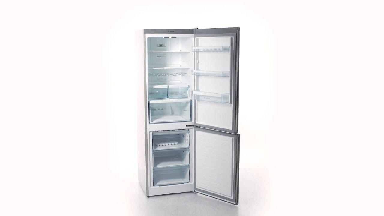 Bosch Kühlschrank Zu Warm : Bosch kgn xi kyl frysar youtube